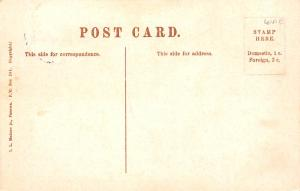 Panama Old Vintage Antique Post Card Cascade at La Chorera 1911 Stamp on front
