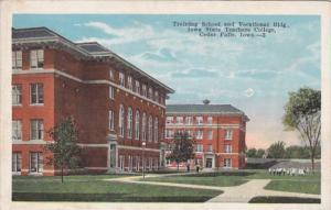 Iowa Cedar Falls Training School & Vocational Building Iowa State Teachers Co...