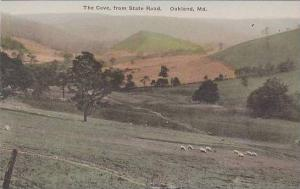 Maryland Oakland The Cove From State Road Albertype