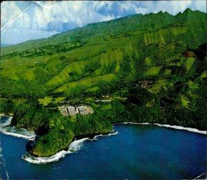 JD0026 tahiti pacific ocean matavai bay tahara a intercontinental hotel stamp