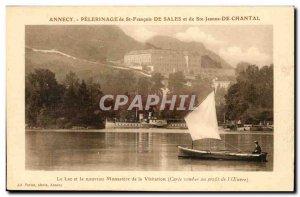 Old Postcard Annecy Pilgrimage of St. Francis de Sales and St. Jane de Chanta...