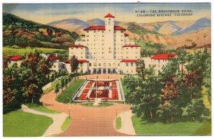 Colorado Springs, Colorado, The Broadmoor Hotel
