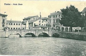 09595 - CARTOLINA d'Epoca - TREVISO Citta': PONTE DANTE