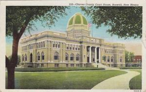 Exterior, Chaves County Court House, Roswell, New Mexico,PU-1950