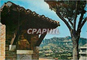 Postcard Modern Repubblica di San Marino and Mount Titano Fountaine with the ...