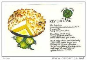 Recipe   Key Lime Pie, 40-60s #2