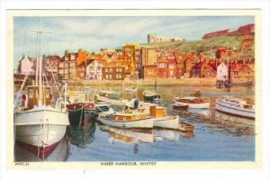 Boats, Inner Harbour, Whitby (Scarborough), Yorkshire, England, UK, 1940-1960s