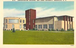 Administration Building, bob Jones University Greenville South Carolina SC