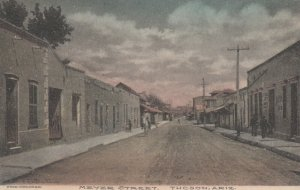 Tucson , Arizona , 1900-10s ; Meyer Street