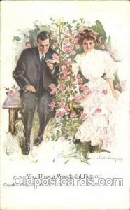 Artist Signed Howard Chandler Christy, You have a wonderful Future Unused