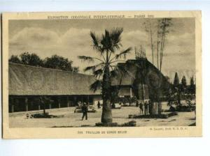 172863 FRANCE PARIS EXPOSITION 1931 CONGO BELGE pavillon