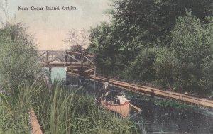 ORILLA, Ontario, Canada, 1900-1910's; Near Cedar Island