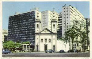 brazil, RIO DE JANEIRO, Castelo, Saint Luzia Church (1960s)