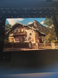 Vintage Postcard: The House of Pilate ,Oberammergau Germany