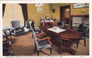 Utah Salt Lake City Governors Private Office Utah State Capitol