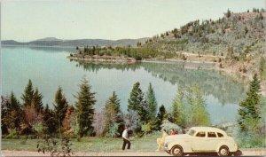 Coeur d'Alene Idaho Old Auto Union Oil Co. Unused Advertising Postcard G10