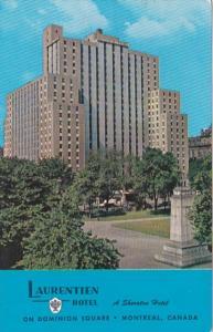 Canada Montreal The Sheraton Laurentian Hotel 1962