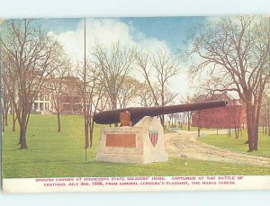 Divided-back MILITARY SCENE Home At Minnehaha Falls - Minneapolis MN AF8733