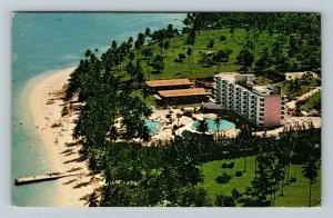 Ocho Rios Jamaica Hilton Hotel Chrome Postcard