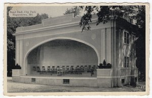 Hagerstown, Md, Band Shell, City Park