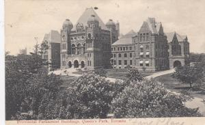 TORONTO , Ontario, Canada, 1906 ; Parliament Buildingd