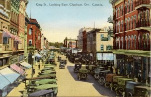 Canada - Ontario, Chatham. King Street looking West