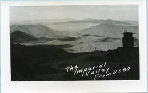 CA - Imperial Valley from U.S. 80  *RPPC