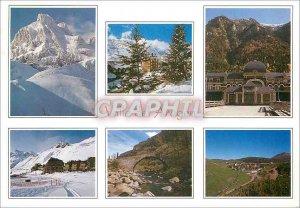 Postcard Modern Valle Del Aragon Huesca Pirineo Aragones