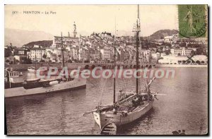 Postcard Old Port Menton