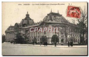 Paris Old Postcard The palace Champs Elysees