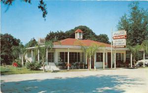 Mount Dora Florida~Fralick's Restaurant~Borden's Ice Cream~1950s Roadside Pc