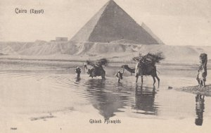 CAIRO , Egypt , 00-10s ; Ghizeh Pyramids