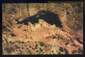 Apache Trail, Arizona/AZ Postcard, Tonto Cliff Dwellings