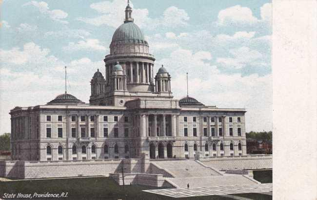 The State House - Capitol Building - Providence RI, Rhode Island - UDB