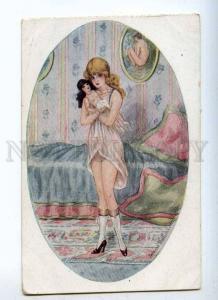 233270 ART NOUVEAU Nude Woman DOLL by OUILLON-CARRERE Vintage