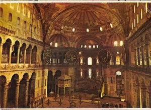 B108777 turkey Istanbul VIew of the Gallery of WOmen in St. Sophia