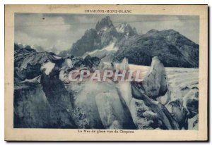 Old Postcard Chamonix Mer de Glace for the Hat