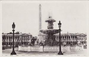 RP; PARIS, Place de la Concorde, France, 10-20s