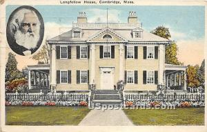 Longfellow Home Cambridge MA 1921