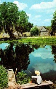 Fisning Scene Catfishing 1971