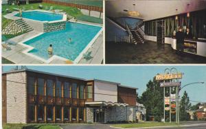 Swimming Pool,  Motel Le Grand Bien Inc. Granby,  Quebec,  Canada,   40-60s