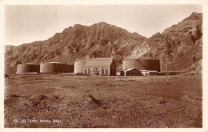 Yemen Aden Maala Oil Tanks real photograph