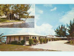 Unused Pre-1980 RIVER WINDS COURT MOTEL Palmetto Florida FL u3193