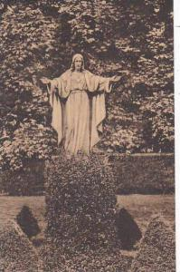 Rhode Island Newport Convent Of Our Lady Of The Cenacle Statue Of The Sacred ...