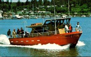 Washington Ilwaco Salmon Fishing Boat Dude Captain Bruce Jardine