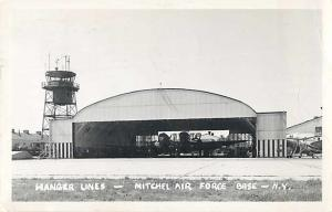 RPPC of Hanger Lines - Mitchell Air Force Base Long Island NY, New York