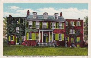 Lancaster Wheatland Home Of President James Buckanan Pennsylvania