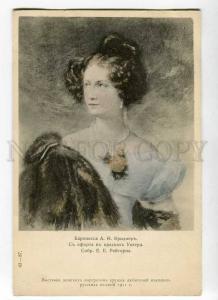270231 RUSSIA Baroness Barbara von Krudener Unger  St.Eugenie