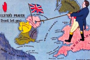 Northern Ireland Political Interest Postcard Ulsters Prayer Don't Let Go 86K