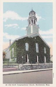 Old North Congregational Church - Marblehead MA, Massachusetts - WB
